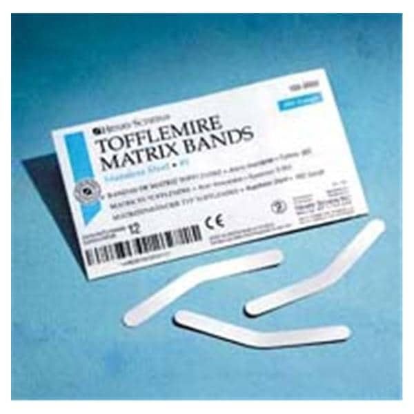Henry Schein Tofflemire Matrix Band 1 0 0015 in 144/Pk