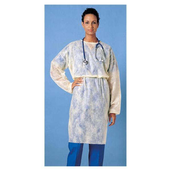 Isolation Gown Universal Yellow Elastic Cuff 50/Ca - Henry Schein ...