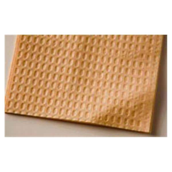 TIDI Ultimate Waffle Bib 13 in x 18 in 3 Ply Pch Wfl Embsd 500/Ca