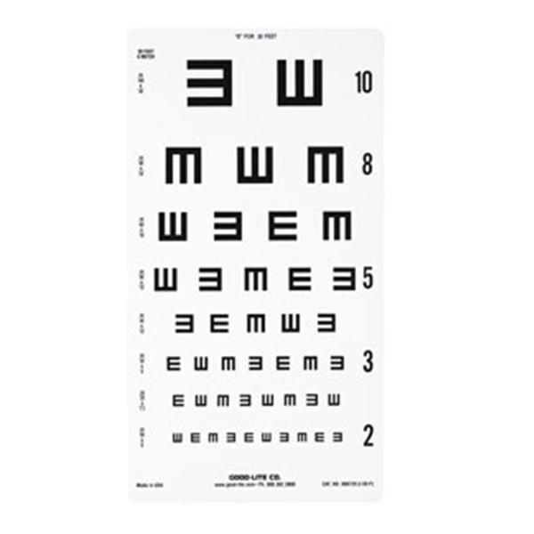 Illiterate Chart Eye Ea Henry Schein Special Markets