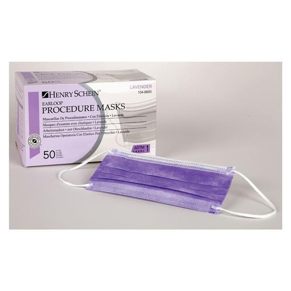 Ear Box Of 50 Mask Loop Face Purple Procedure Medical Surgical 1