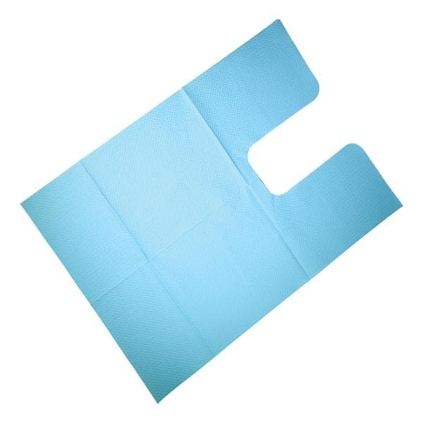 Dri-Gard Oral Surgery Towel 18 in x 25 in 3 Ply Blue 250/Case