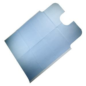 Dri-Gard Oral Surgery Towel 29 in x 42 in 3 Ply Blue 50/Case