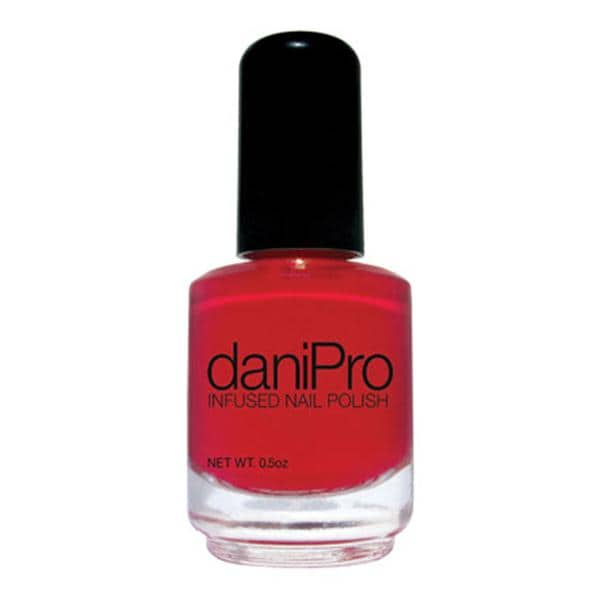Nail Polish Infused DaniPro Red First Kiss Undecylenic Acid Ea