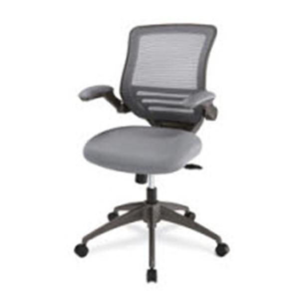 Beau Realspace Calusa Mesh Mid Back Chair Silver Ea 1171368   RealSpace   857556