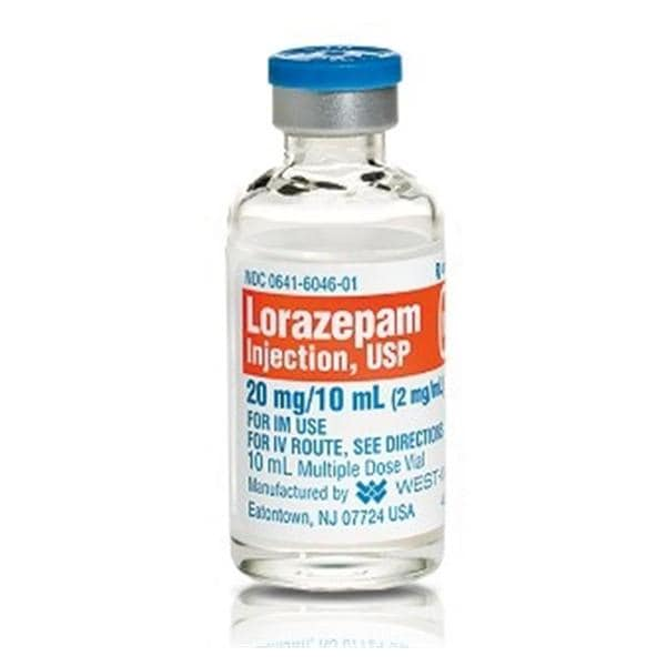 lorazepam absorption food