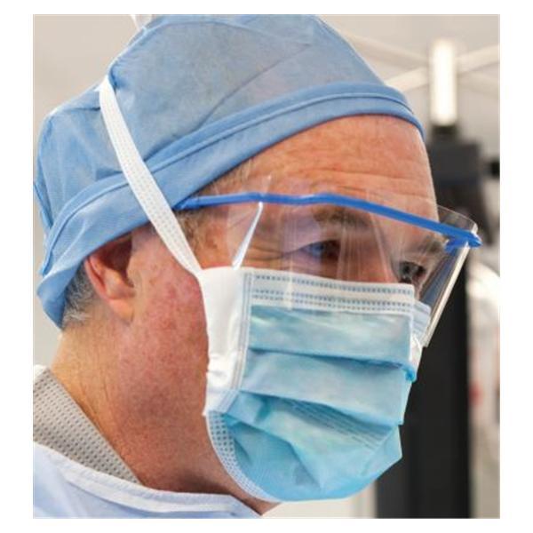 Face Foam 50 Blue - Henry bx Tie On Fog-free Secure-gard Mask