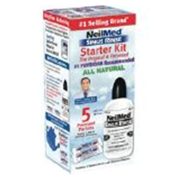 NeilMed Sinus Rinse Nasal Wash 5ct Packet Ea - Henry Schein