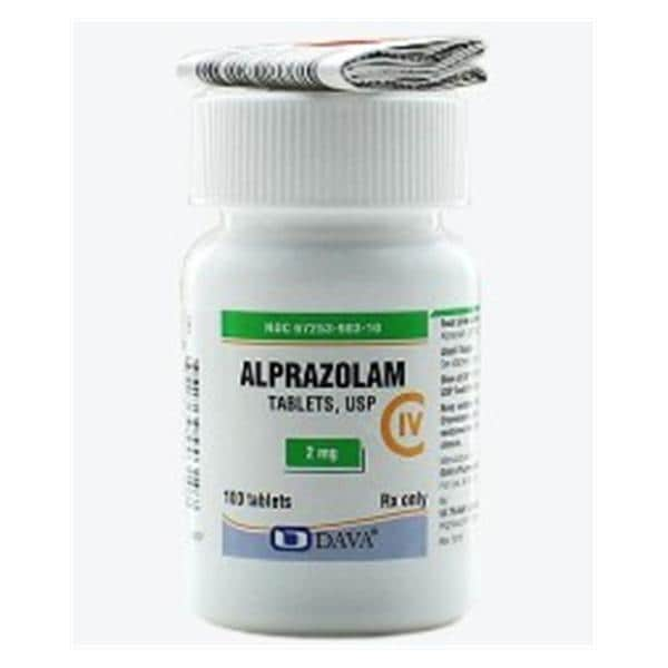 alprazolam for dental anxiety