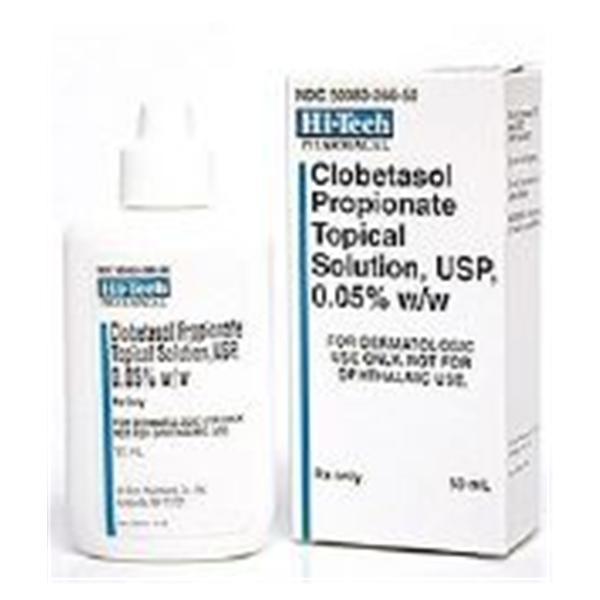 Clobetasol Propionate Topical Solution 0 05 Bottle 50ml Bt Henry