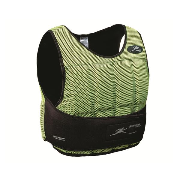 Vest Weight Speed-Vest 10lb Neon Green Polyester Ea - Henry