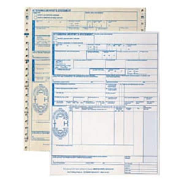 Insurance Claim Forms Laser Cut 85 In X 11 In White 1000pk