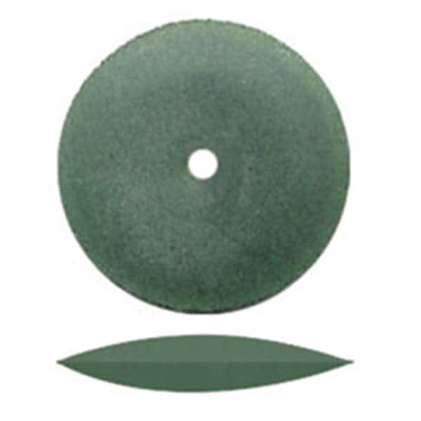 Unmounted Polisher Knife Edge Wheel Green For All Purpose 100/Bx