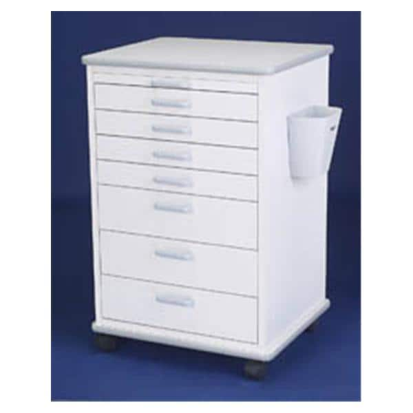 Mobile Cabinet Doctor Almond 32 in x 21 in x 18.75 in Each - Henry ...