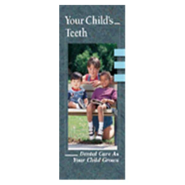 Brochure Your Child's Teeth 6 Panels English 50/Pk