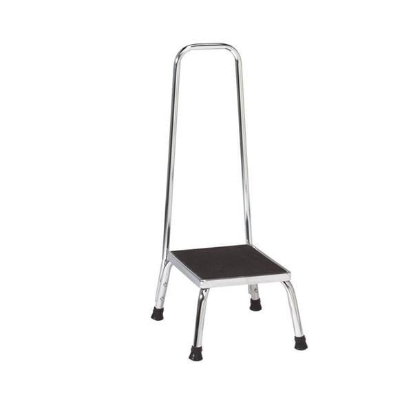 Swell Stool Step Chrome 4 Leg 1 Ea Henry Schein Special Markets Inzonedesignstudio Interior Chair Design Inzonedesignstudiocom