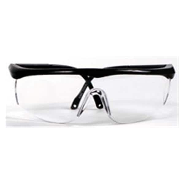 d984ee23852 Wizard Bifocal Safety Glasses 1.0x Clear Lens   Black Frame Ea 3106701