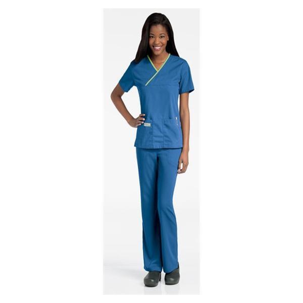 a35c284d181 Urbane Scrub Shirt 9534 Crossover Womens X-L Black / Primrose Ea 3375823 |  Urbane (TM) - 9534-BKPRP-XL
