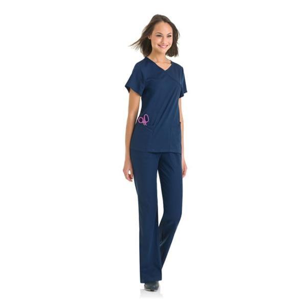 6353bde9ae1 ... Urbane Scrub Shirt 9577 Sophie Crossover Womens 3X Large Navy Ea