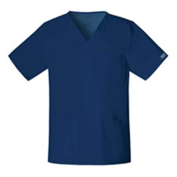 87c8975aef8 Cherokee Scrub Shirt 4725 Unisex Large Navy Ea 3376676 | Cherokee Workwear  - 4725-NAVW-L