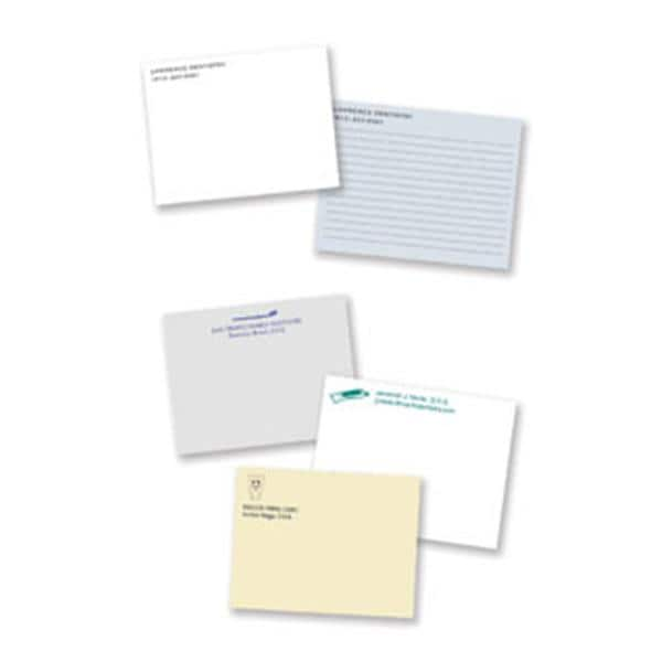 Post It Personalized Notes Left Justified 4x3 Econo 50 Shts 10 Pk 3662597 Office Supplies Practice Mkt
