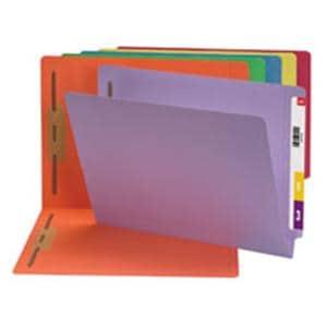 11 Pt End Tab Folder 2 FstnrsBlue 50/Bx ...