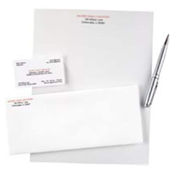 watermarked letterhead imprinted 2 color 8 5 in x 11 in 500 pk