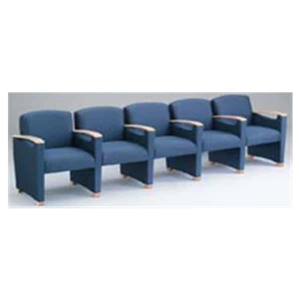 Somerset 5-Seat Sofa With Center Arms Standard Fabric Ea