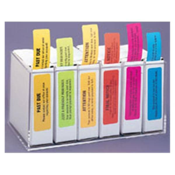 Label Organizer Box Acrylic6 Roll Ea 3674676 | Office Supplies U0026 Practice  Mkt U2014 5098