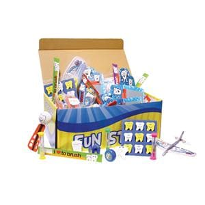 Treasure Chest Dental Toy Mix 150/Bx