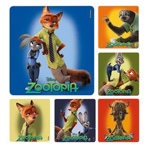 Stickers Zootopia Assorted 100/Rl