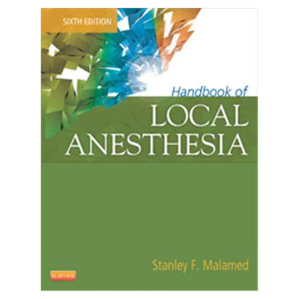 Book Local Anesthesia 6th Edition Ea