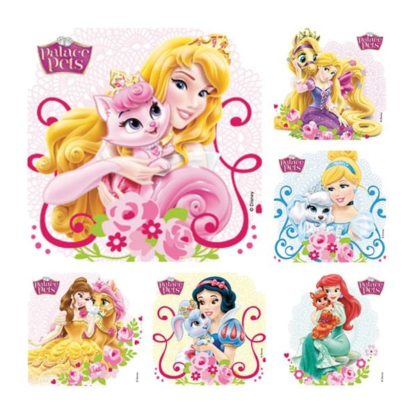 Beau Stickers 2.5 In X 2.5 In Disney Palace Pets Assorted 100/Rl 3681821 | Office  Supplies U0026 Practice Mkt   PS585