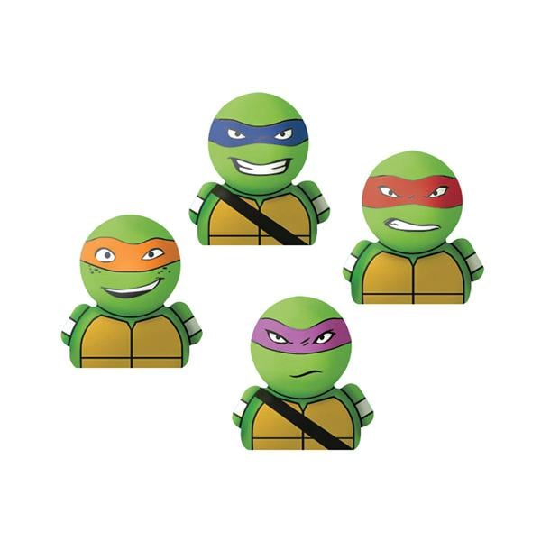 Toy Finger Puppet Teenage Mutant Ninja Turtles Assorted Colors 24 Pk Henry Schein Special Markets