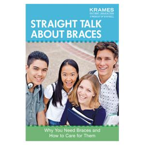 Booklet Straight Talk About Braces 16 Pages English Ea
