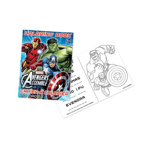 Coloring Book Avengers 48 Pk