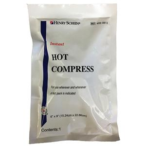 5fdf668abc Compress Hot Henry Schein Instant Disposable White 6x8.25