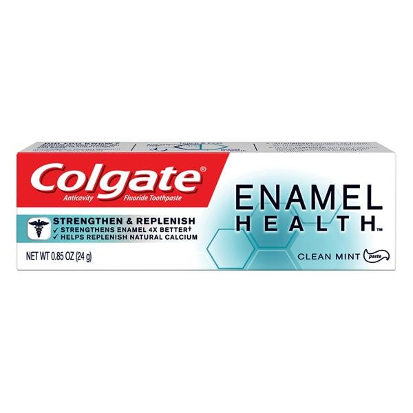 Colgate enamel health toothpaste 0 85 oz fresh mint 24 ca 5430206 colgate oral pharmaceuticals us05438a