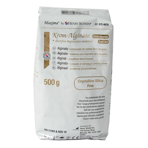 Maxima Krom Alginate Plus Dust Free 500 Gm Refill Fast Set 500gm/Bg