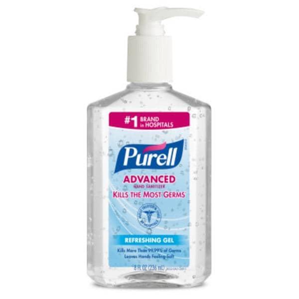 Hand Sanitizer Gel Purell Advanced 8oz/Ea, 12 EA/CA - Henry