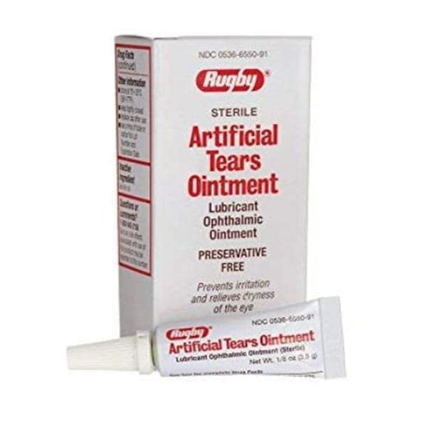Artificial Tears Ophthalmic Ointment 1/8oz/Tb