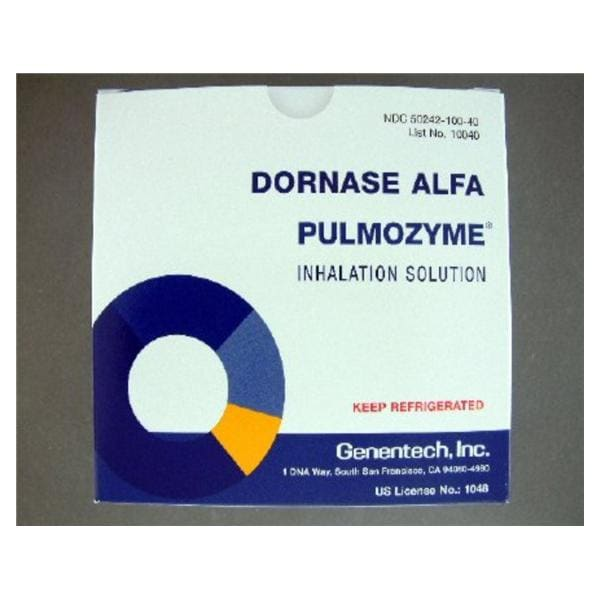 Pulmozyme Inhalation Solution Ampule 5mg 2 5mL 30/Cr - Henry
