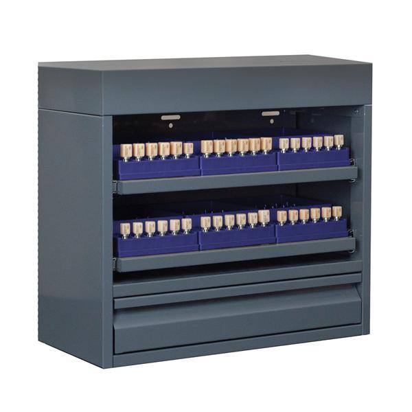 Cad Cam Block Locker Storage Cabinet Sm Grey Midnight Blue Ea