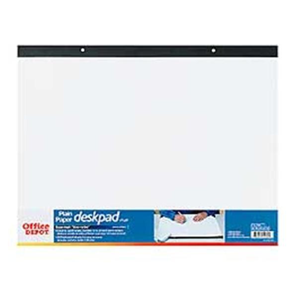 Sensational Office Depot Brand Plain Paper Desk Pad 17 X 22 Ea Home Interior And Landscaping Ymoonbapapsignezvosmurscom