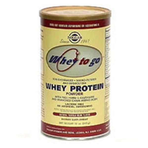 Whey To Go Beverage Protein Powder Vanilla Bean 12oz Can Ea