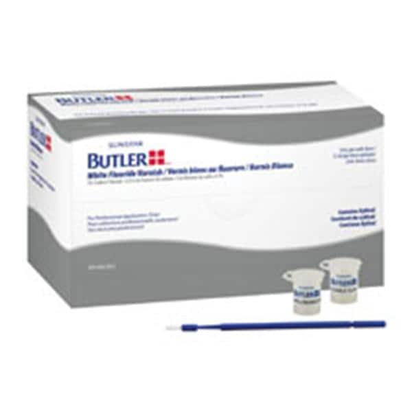 Superbe Butler White Varnish Fluoride Unit Dose 5% NaF 0.5 ML Bblgm 36/Bx