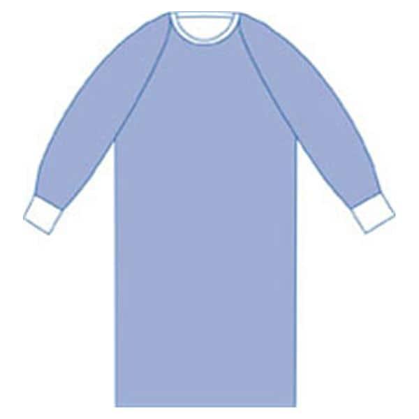 Gown Surgical Aurora Large Blue NRnfrcd AAMI L3 Strl LF 32/Ca ...