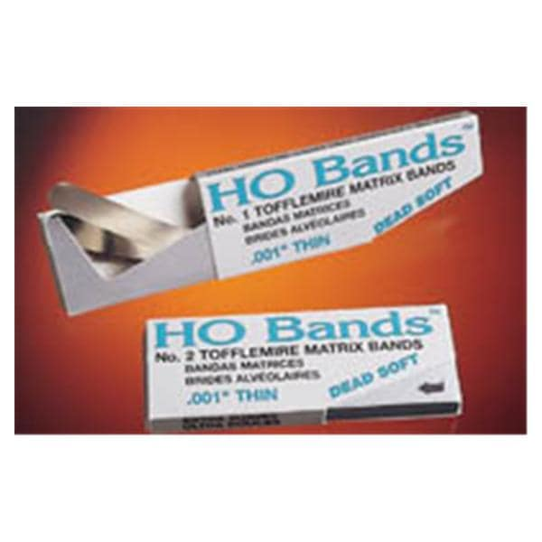 HO Bands Tofflemire Matrix Band 2 MOD 0 001 in 100/Pk