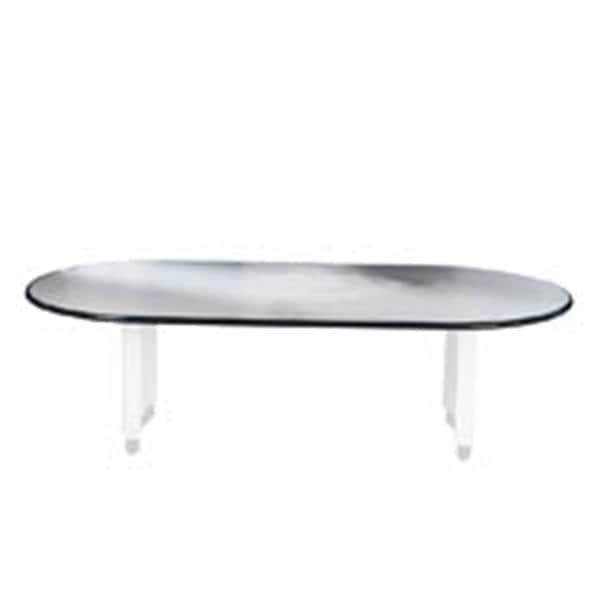 TABLE TOP OVAL 48X96 LGY 1/PK 9020762 | Bevis Custom Furniture   139821