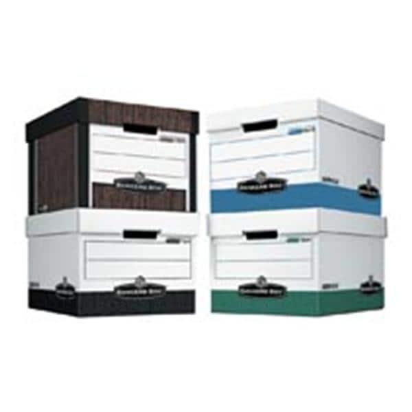R-Kive Storage Box Letter/Legal Woodgrain 12/Pack 12/Bx